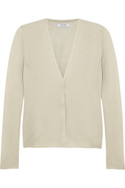 Jacopo fine-knit cotton-blend cardigan