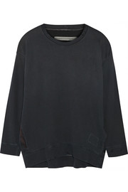 Raquel Allegra Sun Fade cotton sweatshirt