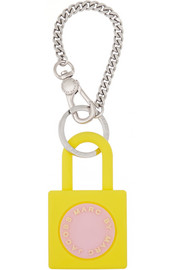 Marc by Marc Jacobs Padlock silicone bag charm