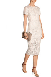 Lover Crescent lace midi dress