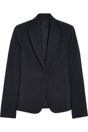 Theory Stretch-crepe blazer