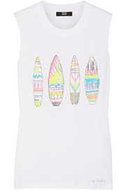 Surfboards Hetty sequined cotton tank