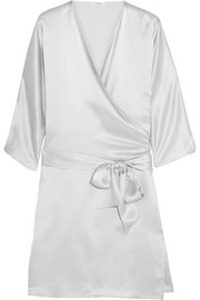 Back Label Como silk robe