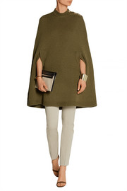 Marc Jacobs Wool and cashmere-blend poncho