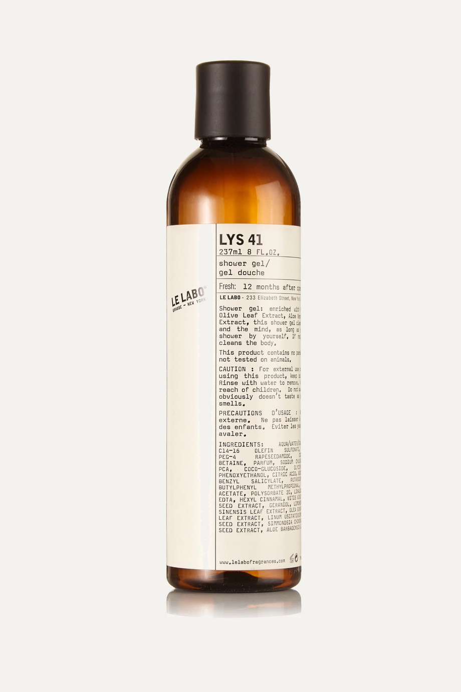 Le Labo Lys 41 Shower Gel, 237ml