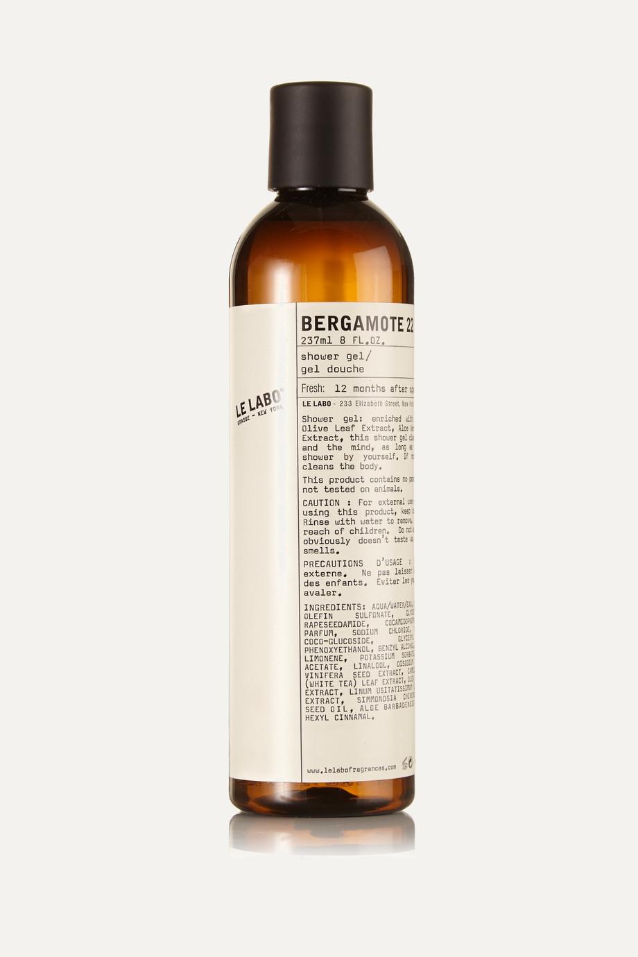 Le Labo Bergamote 22 Shower Gel, 237ml