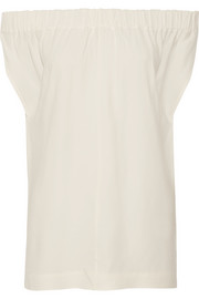 Evie off-the-shoulder cady top