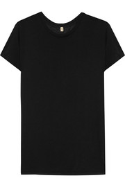 Classic modal and cotton-blend T-shirt