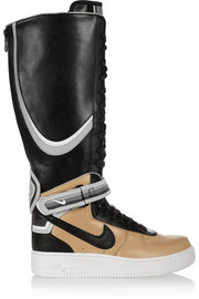 Nike + Riccardo Tisci Air Force 1 leather high-top sneakers