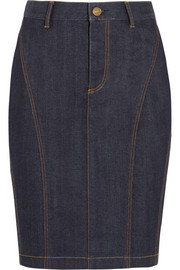 Burberry Brit Stretch-denim pencil skirt
