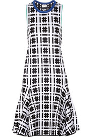 Issa Silvia printed jacquard dress