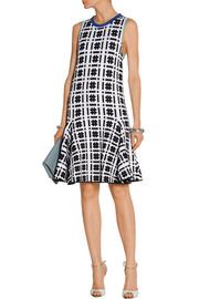 Silvia printed jacquard dress