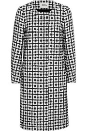 Percy jacquard coat
