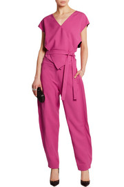 Freida stretch-gabardine jumpsuit