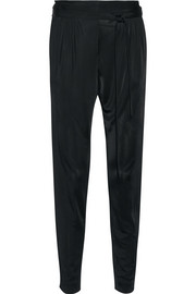 Ebony jersey tapered pants