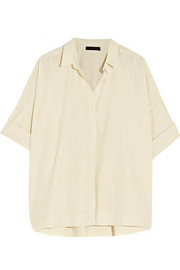 Donna Karan New York Cotton-poplin shirt