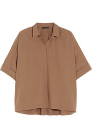 Donna Karan New York Oversized cotton shirt