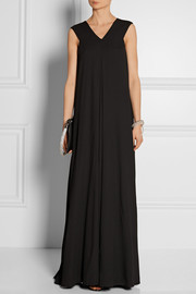 Moodie ponte maxi dress