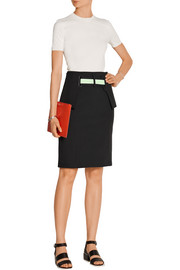 Rory neoprene pencil skirt