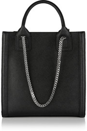 K/Rock mini textured-leather tote