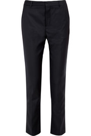 Joseph Kong Super 100 wool-twill slim-leg pants