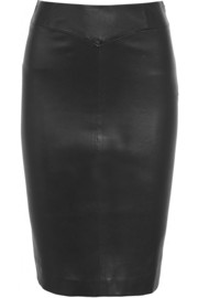 Claire leather pencil skirt