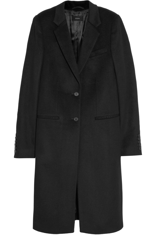 Joseph Man wool and cashmere-blend coat