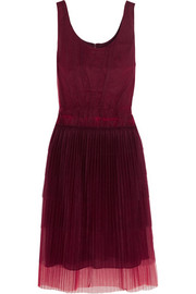 Burberry Prorsum Tiered tulle midi dress