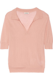 Rhones cashmere polo top
