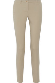Samantha stretch-wool twill skinny pants
