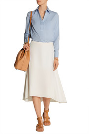 Michael Kors Stretch-cotton poplin shirt