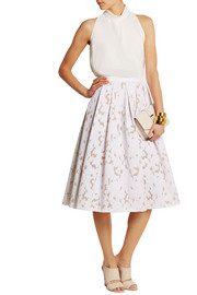 Michael Kors Fil coupé skirt