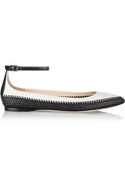 Bottega Veneta Intrecciato leather flats