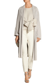 Bottega Veneta Suede trench coat