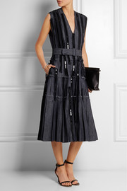 Bottega Veneta Embellished denim dress