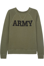 Army cotton-terry sweatshirt