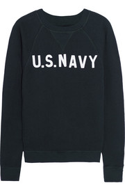 U.S. NAVY cotton-terry sweatshirt