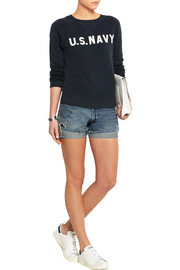 NLST U.S. NAVY cotton-terry sweatshirt