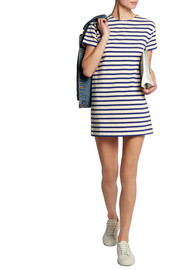NLST True striped cotton-jersey mini dress