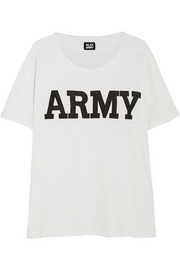 Army cotton-blend T-shirt
