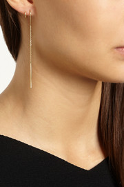 Maria Black Fine Jewelry Aileen Twirl 18-karat gold earrings