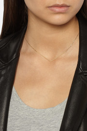 Maria Black Fine Jewelry Brooks 18-karat gold necklace