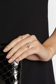 Maria Black Fine Jewelry Fay Wray 18-karat gold diamond ring