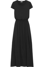 Supima cotton and Micro Modal-blend jersey maxi dress
