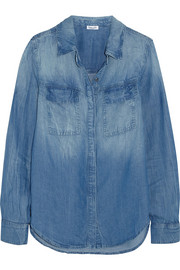 Wilder washed-chambray shirt