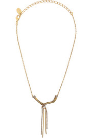 Erickson Beamon Little Tiny Stars gold-plated Swarovski crystal necklace