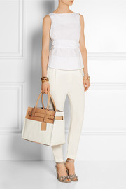 RK40 canvas and leather tote