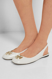 Tory Burch Classic leather slingback ballet flats
