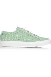 Common Projects Original Achilles perforated nubuck sneakers