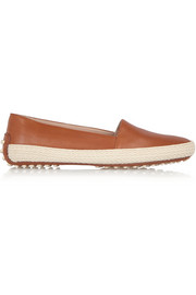 Tod's Leather espadrilles